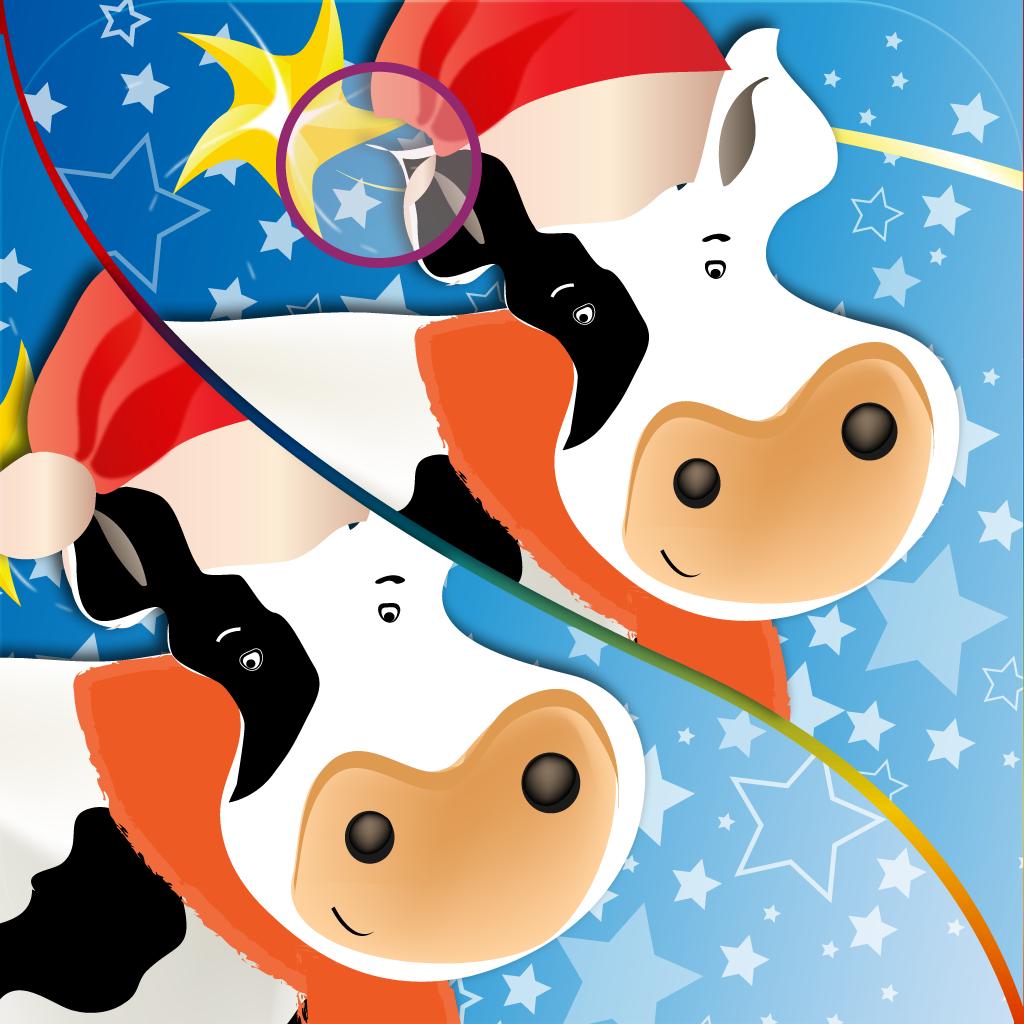 圣诞动物找不同:搜索查找!